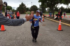 Lisa Roberts, Paula's Daughter, And Son Finish The Race
