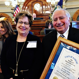 Dr. and Mrs. Dakhil honored as Kansas Humanitarians of the Year